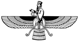 Image result for Zoroaster symbol